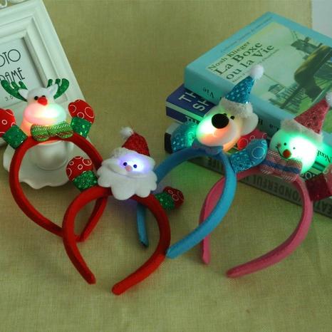 Christmas light-emitting single headband wholesale Nihaojewelry NHGAL413235's discount tags