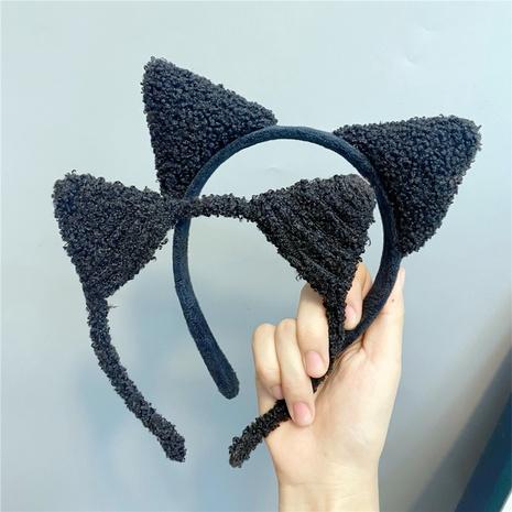Diadema de orejas de gato lindo de felpa coreana al por mayor Nihaojewelry NHFS413595's discount tags