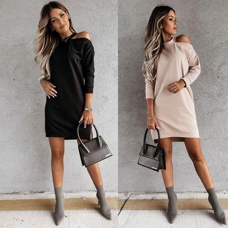 vestido sin tirantes de color sólido de moda al por mayor Nihaojewelry NHUO414881's discount tags