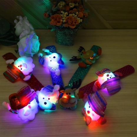 Christmas sequins pat circle luminous bracelet wholesale Nihaojewelry NHGAL413210's discount tags