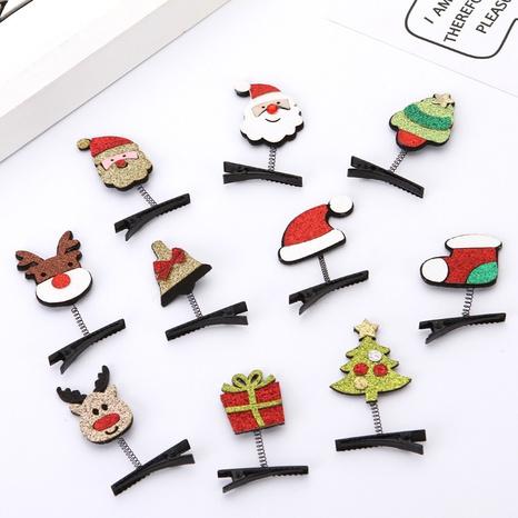 Christmas Santas tree sequins hairpins wholesale Nihaojewelry NHGAL414194's discount tags