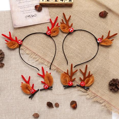 Christmas Antlers Hair Hoop Hairpin Ornaments Wholesale Nihaojewelry NHGAL414195's discount tags