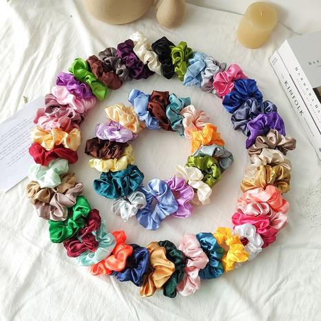 Banda de goma de tela Color sólido Scrunchies para el cabello al por mayor Nihaojewelry NHOF414629's discount tags