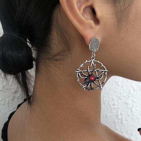 Fashion Pentagram Spider Earrings Wholesale Nihaojewelry NHMD414657's discount tags