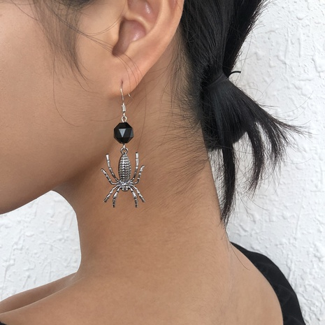 retro spider animals geometric earrings wholesale Nihaojewelry NHMD414663's discount tags