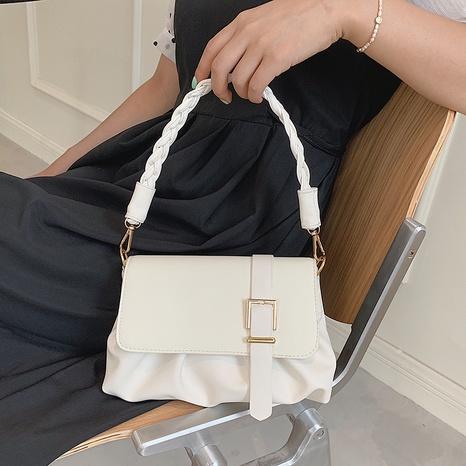 Korean new fashion chain knot single shoulder small square handbag wholesale nihaojewelry NHUA397433's discount tags