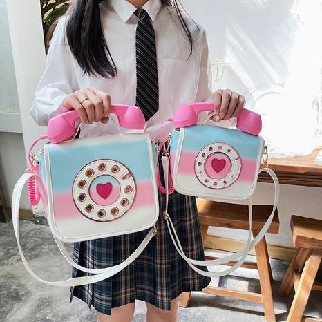 fashion simulation telephone single shoulder bag wholesale Nihaojewelry NHLH397633's discount tags