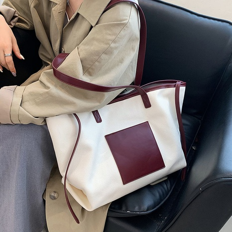 wholesale multicolor large-capacity shoulder portable tote bag nihaojewelry  NHGN397717's discount tags