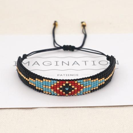 geometric eyes Miyuki beads hand-made woven bracelet wholesale jewelry Nihaojewelry NHGW397945's discount tags