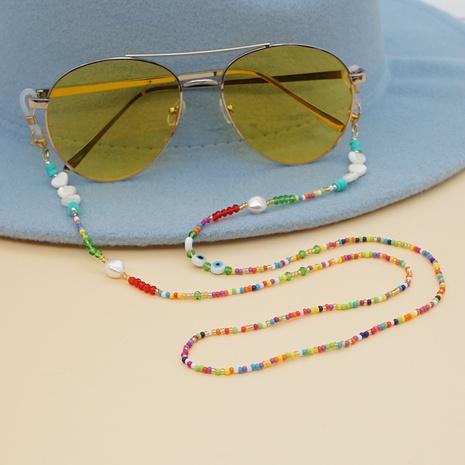 colorful glass miyuki beads star shell glasses chain wholesale nihaojewelry NHYUZ397952's discount tags