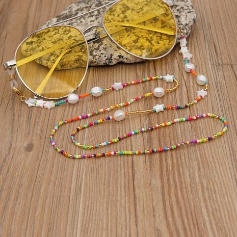 geometric lanyard glass miyuki beads star shell glasses chain wholesale nihaojewelry NHYUZ397953's discount tags