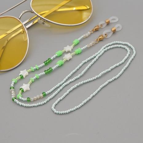 fashion glass miyuki beads star shell glasses chain wholesale nihaojewelry NHYUZ397955's discount tags