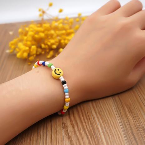 geometric acrylic glass color rice bead ethnic style bracelet wholesale jewelry Nihaojewelry NHYUZ397958's discount tags
