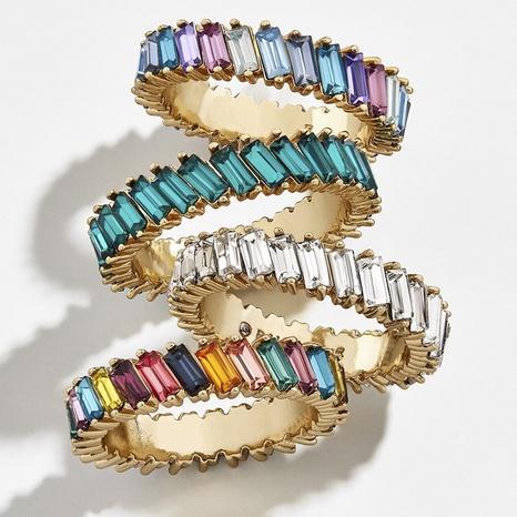 Al por mayor joyería anillo de cristal de hit color nihaojewelry NHYIA398361's discount tags