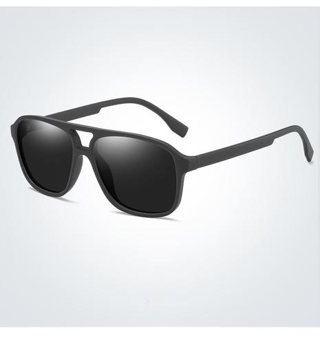 Polarized clashing color square sunglasses wholesale Nihaojewelry NHZIH401818's discount tags