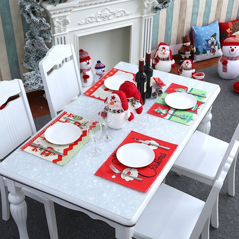 Wholesale New Christmas Home Restaurant Decoration Table Cloth Nihaojewelry  NHMV399449's discount tags