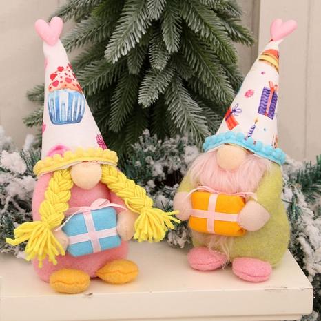 new faceless dwarf Rudolph window props ornaments doll Nihaojewelry  NHMV399451's discount tags