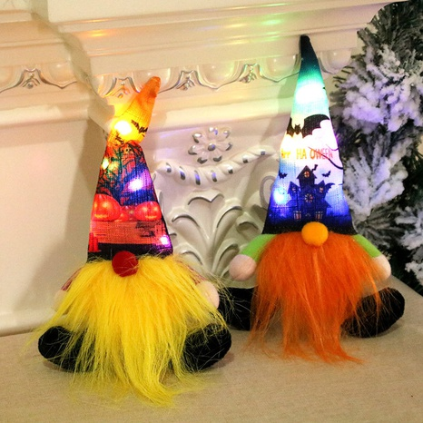 wholesale new Christmas sitting posture luminous doll Nihaojewelry  NHMV399453's discount tags