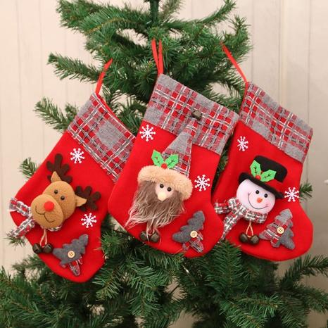 Wholesale New Medium Three-dimensional Christmas Socks Gift Bag Nihaojewelry  NHMV399457's discount tags