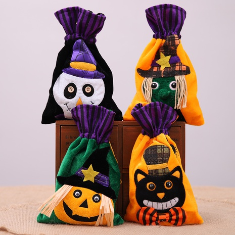 wholesale creative children's holiday pumpkin gift bag Nihaojewelry  NHHB399472's discount tags