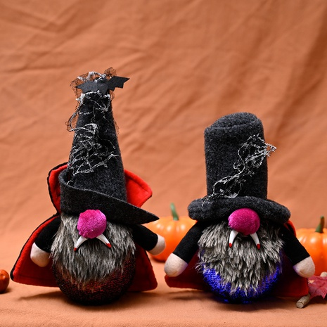 wholesale new Halloween decoration with light Rudolph doll Nihaojewelry  NHHB399474's discount tags