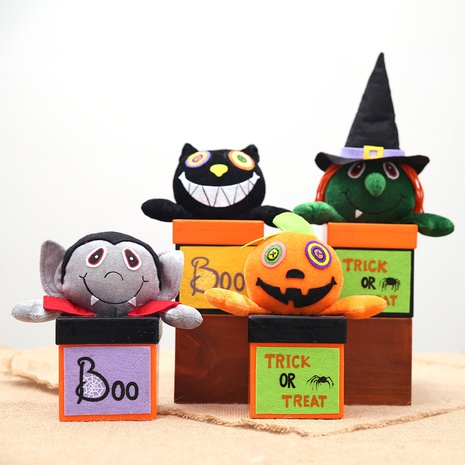 wholesale new halloween daily necessities paper candy box Nihaojewelry  NHHB399476's discount tags
