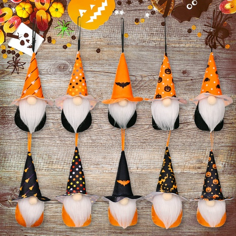 wholesale new Halloween decoration small pendant Halloween faceless doll Nihaojewelry  NHHB399481's discount tags