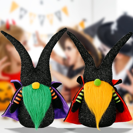 wholesale new Halloween decoration cloak faceless doll Nihaojewelry  NHHB399482's discount tags