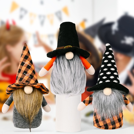 wholesale Halloween Rudolph faceless doll decoration Nihaojewelry NHHB399491's discount tags