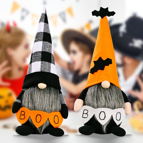 wholesale Halloween faceless doll Rudolph standing pose doll ghost Nihaojewelry NHHB399494's discount tags
