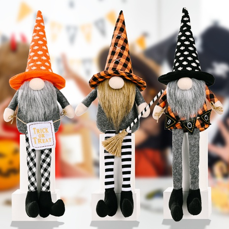 wholesale Halloween  hanging legs Rudolph faceless doll decoration Nihaojewelry NHHB399496's discount tags