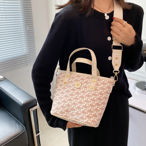 letter printed large-capacity fashion shoulder cross-body portable bag wholesale Nihaojewelry NHWH399670's discount tags