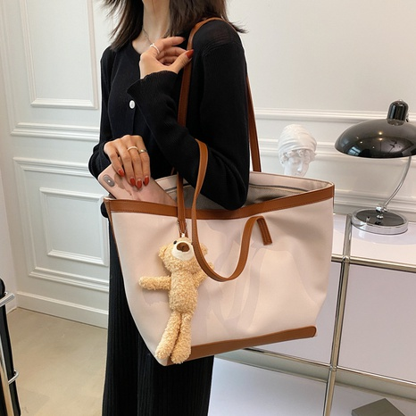 Large-capacity fashion shoulder tote bag wholesale Nihaojewelry NHWH399675's discount tags