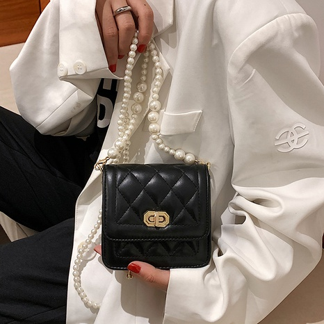 wholesale casual rhombus chain messenger small square bag nihaojewelry  NHGN399760's discount tags