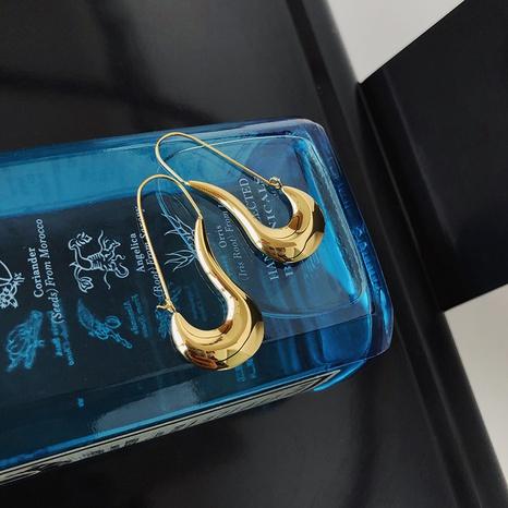 wholesale jewelry pin shape titanium steel earrings nihaojewelry  NHGC400492's discount tags