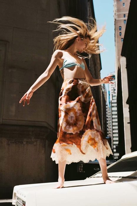 falda floral con estampado de encaje de verano al por mayor Nihaojewelry NHAM415248's discount tags