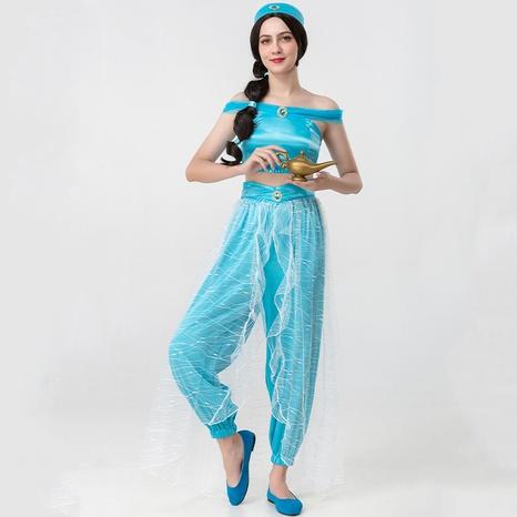 Lámpara mágica de Halloween Aladdin cosplay disfraz de princesa dividida al por mayor nihaojewelry NHFE415667's discount tags