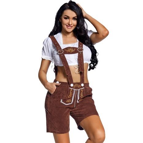 Oktoberfest alemán cosplay bordado traje dividido traje al por mayor nihaojewelry NHFE415670's discount tags
