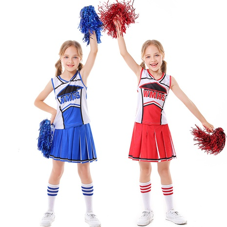 Football baby cheerleader clothing children's dance performance clothing wholesale Nihaojewelry  NHFE415676's discount tags