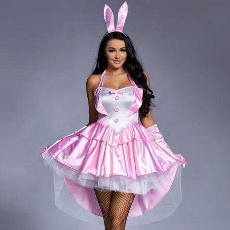 Halloween cosplay Bunny Girl falda de esmoquin rosa hinchada al por mayor nihaojewelry NHFE415677's discount tags