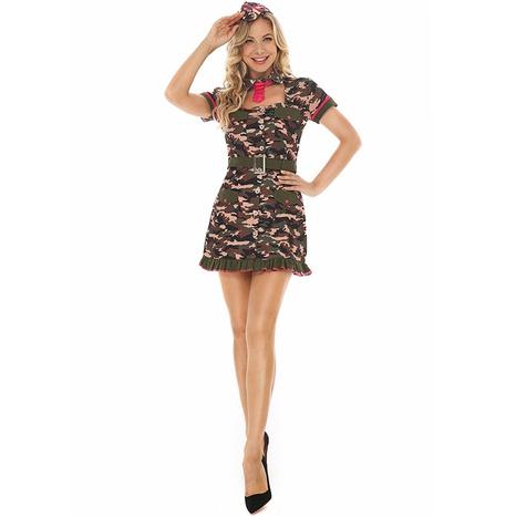 Instructor de cosplay de halloween vestido de agente secreto con estampado ajustado al por mayor nihaojewelry NHFE415691's discount tags