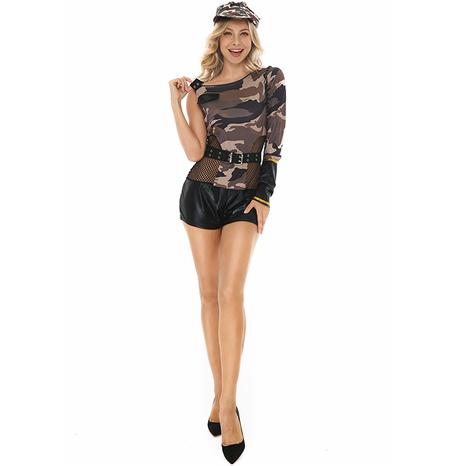 Fiesta de halloween cosplay instructor color sólido ahueca hacia fuera el vendaje traje de una pieza al por mayor nihaojewelry NHFE415695's discount tags
