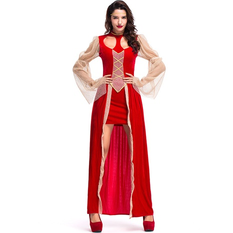 Halloween red hollow heart-shaped dress party costume wholesale Nihaojewelry  NHFE422119's discount tags