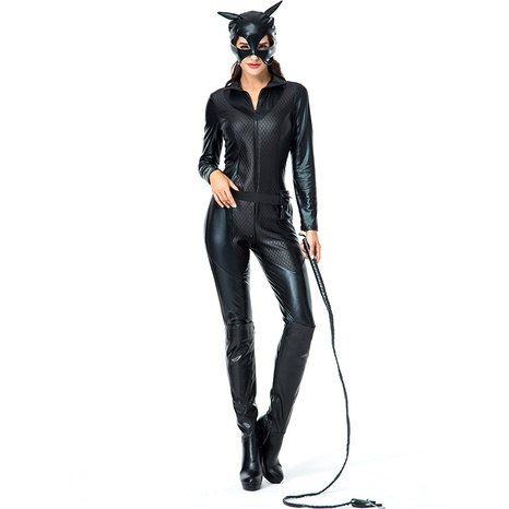 Halloween costume cosplay cat girl black jumpsuit wholesale nihaojewelry  NHFE422121's discount tags