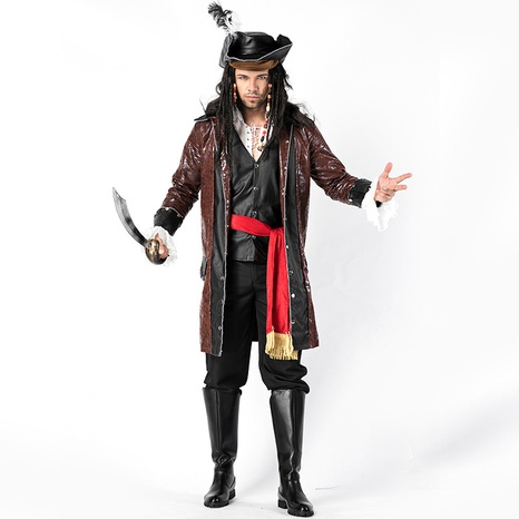 Halloween gorgeous pirate costume adult game uniform wholesale Nihaojewelry NHFE422123's discount tags