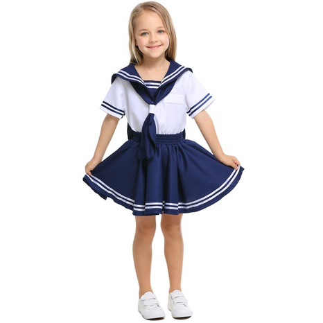 fashion children's navy sailor cosplay clothes wholesale Nihaojewelry NHFE422124's discount tags