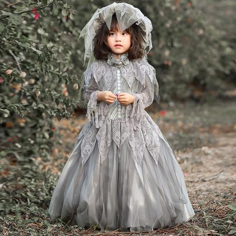 Halloween Skeleton Bride Lolita Costume Wholesale Nihaojewelry  NHFE422125's discount tags
