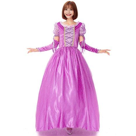 Halloween cosplay rairy tale princess costume purple dress wholesale nihaojewelry  NHFE422129's discount tags