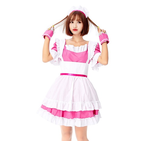 fashion black and white restaurant uniform princess dress wholesale Nihaojewelry  NHFE422133's discount tags