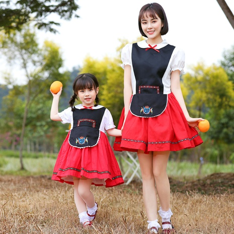 new German Oktoberfest maid skirt parent-child outfit costume wholesale Nihaojewelry  NHFE422136's discount tags